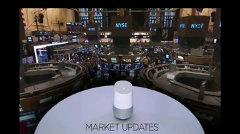 Google Home TV Spot, 'CNBC: News Updates' - Thumbnail 7