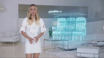 Priceline.com Express Deals TV Spot, \'Screensaver\' Featuring Kaley Cuoco