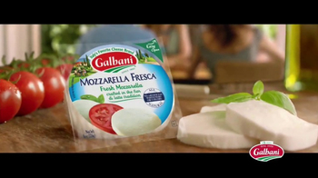 Galbani Mozzarella Fresca Cheese TV Spot, 'Can We Live Too Much?' - Thumbnail 7