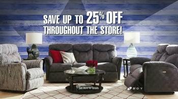 La-Z-Boy Presidents Day Sale TV Spot, 'Historic Proportions' - Thumbnail 5