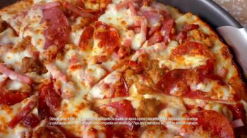 Papa John's Ultimate Meats Pizza TV Spot, 'Como una familia' [Spanish] - Thumbnail 7
