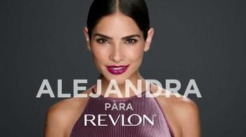 Revlon TV Spot, 'Extra humectante' con Alejandra Espinoza [Spanish] - 292 commercial airings