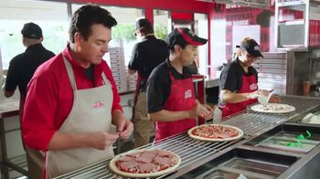Papa John's Ultimate Meats Pizza TV Spot, 'Familia' [Spanish] - 112 commercial airings
