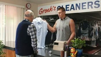 Tide Super Bowl 2017 Teaser, 'Customers Come First at Gronk's Cleaners' - 530 commercial airings