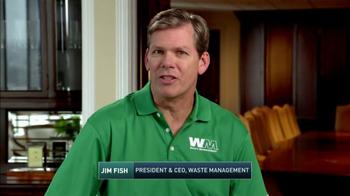 Waste Management TV Spot, '2017 PGA Tour: Think Green' - Thumbnail 1