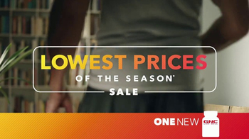 GNC Lowest Prices of the Season Sale TV Spot, 'C4, Xtend & AMP' - Thumbnail 1