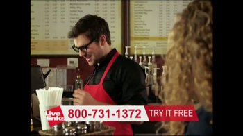 Live Links TV Spot, 'Barista' - Thumbnail 2