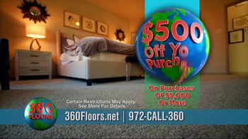 360 Floors TV Spot, 'Make Your Home Beautiful' - Thumbnail 8