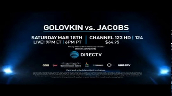 DIRECTV TV Spot, 'World Middleweight Championship: Golovkin vs. Jacobs' - Thumbnail 7