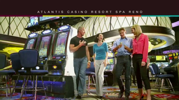 Atlantis Casino Resort Spa Reno TV Spot, 'High Energy'