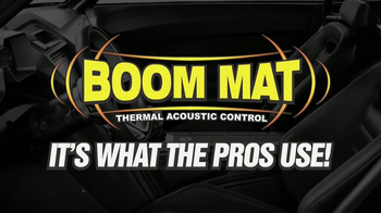 Design Engineering Boom Mat TV Spot, 'What the Pros Use' - Thumbnail 1