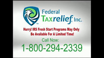 Federal Tax Relief, Inc. TV Spot, 'Fresh Start Initiative' - Thumbnail 9