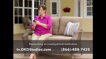 DKD Studies TV Spot, 'Type-2 Diabetes' - Thumbnail 6