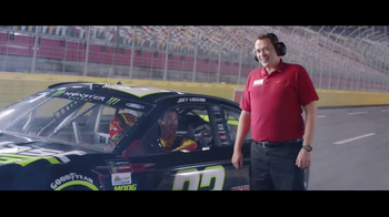 AutoZone Duralast GT Brake Pads TV Spot, 'Stopping Power' Feat. Joey Logano