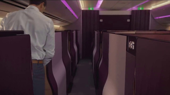 Qatar Airways TV Spot, 'Introducing Qsuite' - Thumbnail 4
