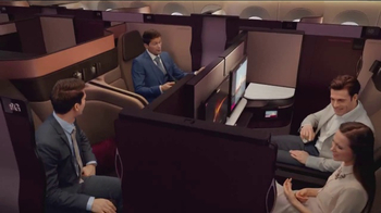 Qatar Airways TV Spot, 'Introducing Qsuite' - Thumbnail 6