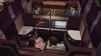 Qatar Airways TV Spot, 'Introducing Qsuite' - Thumbnail 7