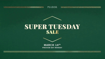 JoS. A. Bank Super Tuesday Sale TV Spot, 'Suits, Shirts & Clearance' - Thumbnail 1