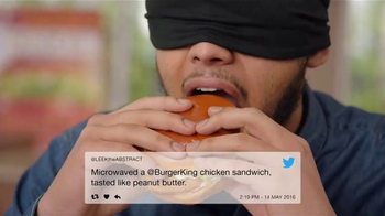 Burger King Crispy Chicken Sandwich TV Spot, 'Haters' - Thumbnail 1