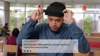 Burger King Crispy Chicken Sandwich TV Spot, 'Haters' - Thumbnail 3
