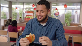 Burger King Crispy Chicken Sandwich TV Spot, 'Haters' - Thumbnail 4
