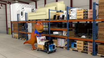 FlexShopper TV Spot, 'T-Flex's Warehouse Tricks' - Thumbnail 1