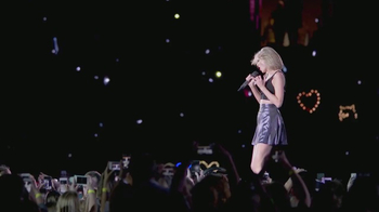 AT&T Taylor Swift NOW TV Spot, 'Concerts on the Go' - Thumbnail 7