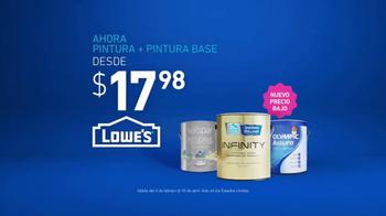 Lowe's TV Spot, 'Pintura y pintura base' [Spanish] - Thumbnail 9