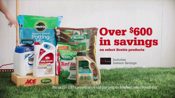 ACE Hardware Scotts Days TV Spot, 'Lawn and Garden' - Thumbnail 6