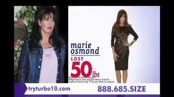 Nutrisystem Turbo 10 TV Spot, 'Take Control' Featuring Marie Osmond - Thumbnail 3