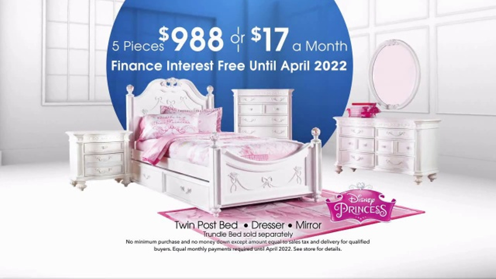 Rooms To Go Kids Anniversary Sale Tv Commercial Interest Free