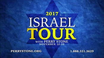 Perry Stone Ministries TV Spot, '2017 Israel Tour' - 61 commercial airings