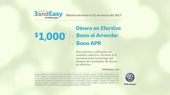 Volkswagen Evento Three and Easy TV Spot, 'Uno, dos, tres' [Spanish] [T2] - Thumbnail 7