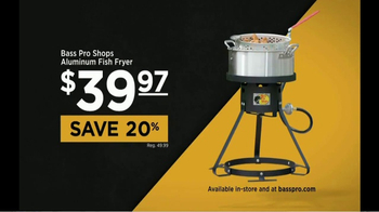 Bass Pro Shops Spring Into Savings Sale TV Spot, 'Fryer' Feat. Bill Dance - Thumbnail 8