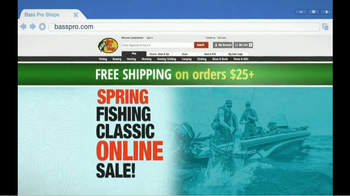 Bass Pro Shops Spring Into Savings Sale TV Spot, 'Fryer' Feat. Bill Dance - Thumbnail 9