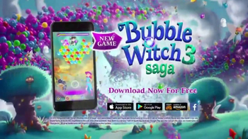 Bubble Witch 3 Saga TV Spot, 'Work Your Magic' - Thumbnail 7
