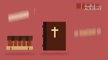 FreedomProject Academy TV Spot, 'Judeo-Christian Values' - Thumbnail 3