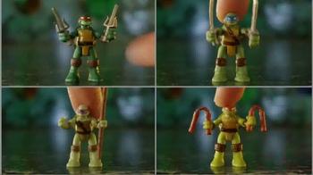 Teenage Mutant Ninja Turtles Micro Mutants TV Spot, 'Raphael Pet Playset' - Thumbnail 2