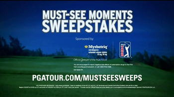 PGA TOUR TV Spot, 'Must-See Moments Sweepstakes' - Thumbnail 8