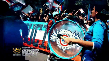 2017 SocioMx Tour TV Spot, 'Cruz Azul vs. Pumas: Cotton Bowl' - Thumbnail 6