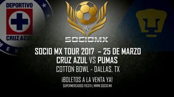 2017 SocioMx Tour TV Spot, 'Cruz Azul vs. Pumas: Cotton Bowl' - Thumbnail 9