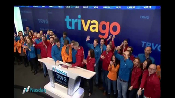 NASDAQ TV Spot, 'trivago' - 33 commercial airings