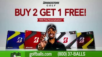 Golfballs.com TV Spot, 'Buy One, Get One Free: Bridgestone' - 262 commercial airings