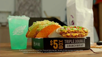 Taco Bell Triple Double Crunchwrap Box TV Spot, 'It's Back' - Thumbnail 6