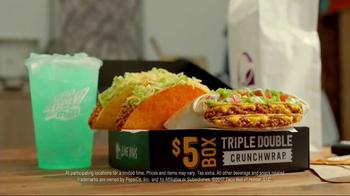 Taco Bell Triple Double Crunchwrap Box TV Spot, 'It's Back' - Thumbnail 6