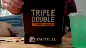 Taco Bell Triple Double Crunchwrap Box TV Spot, 'It's Back' - Thumbnail 2
