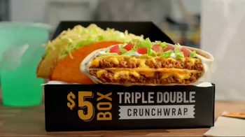 Taco Bell Triple Double Crunchwrap Box TV Spot, 'It's Back' - Thumbnail 3
