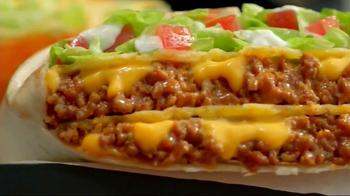 Taco Bell Triple Double Crunchwrap Box TV Spot, 'It's Back' - Thumbnail 4