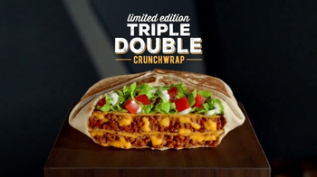 Taco Bell Triple Double Crunchwrap TV Spot, 'New Heights' - Thumbnail 5