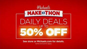 Michaels Make-A-Thon TV Spot, 'Daily Deals'
